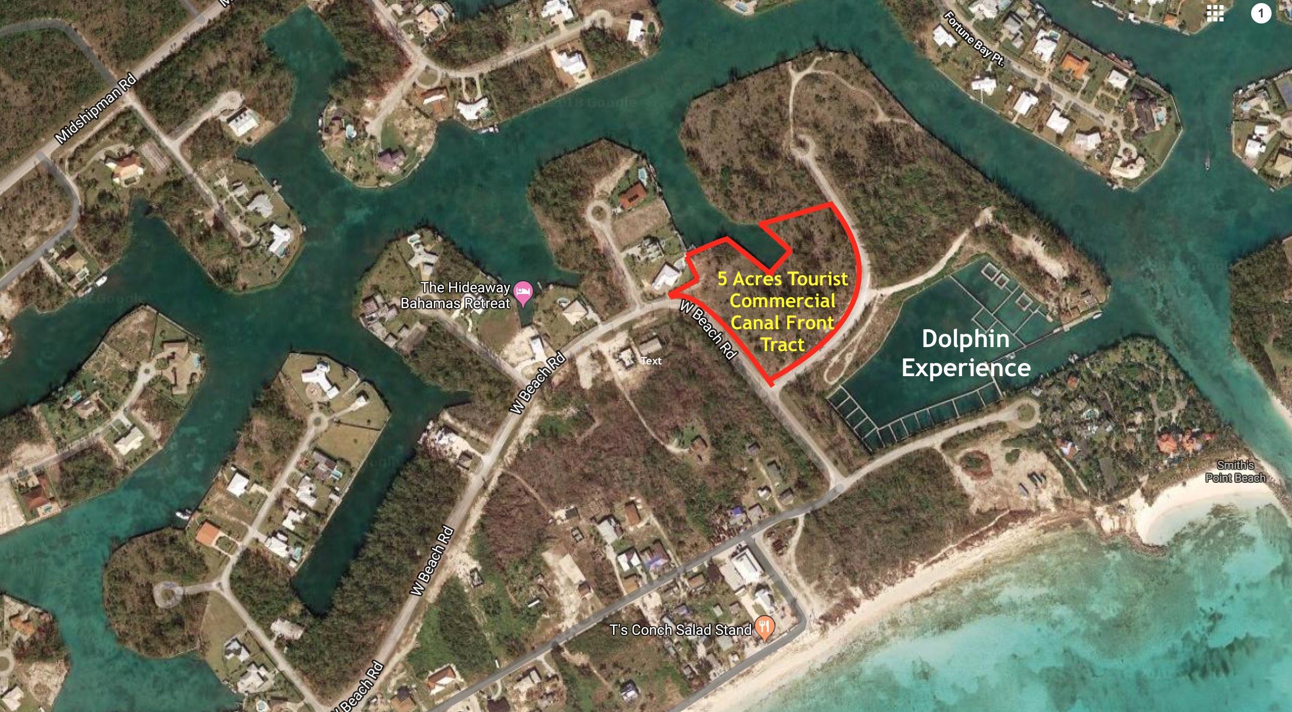West Beach Road Fortune Bay, Grand Bahama